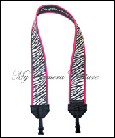 Zebra with Hot Pink Lining