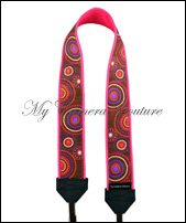 Reversible Orange and Pink Dotted Circles