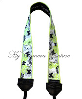 Spring Butterflies-SLR camera, DSLR camera, camera accessory, camera strap, camcorder strap, fashion camera strap, funky camera strap, classic camera strap, colourful camera strap, colorful camera strap, CSLR, Compact SLR, CDSLR, Compact Digital SLR