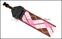 Pink and Brown Argyle (brown)